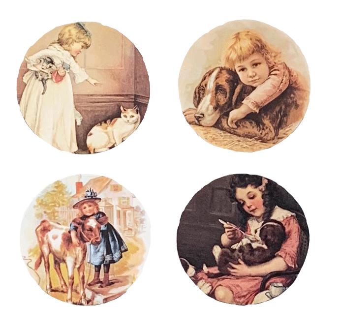 Children w/Animals Mirror