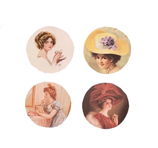 Victorian Ladies 2 Mirror