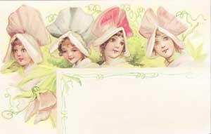 Flower Faces Recipe Cards