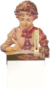 Girl Writing Notepad