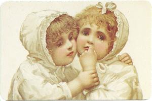 Children Hugging Verse Card